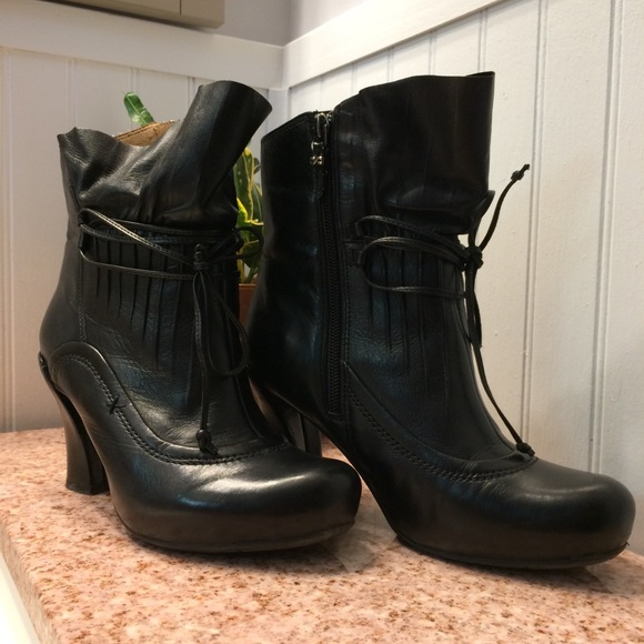 Earthies Eleganza Ankle Boot genuine Leather